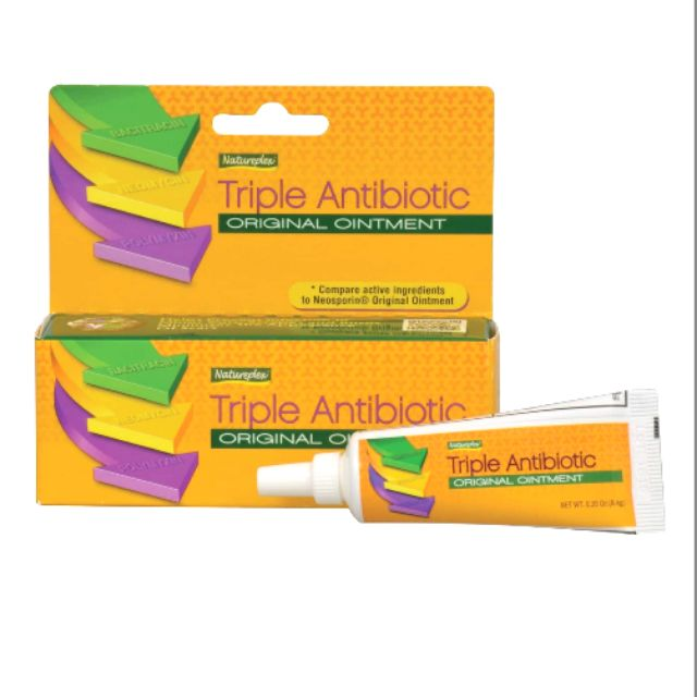 Triple Antibiotic Ointment  33oz Tube Cuts Scars Wound