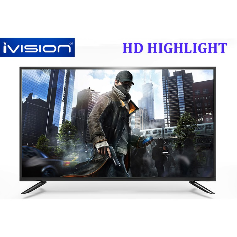 """˂Ready Stock˃ COD! IVISION D420P Screen 40"""" Inch Full HD LED TV 42 Free Wall Mount"""