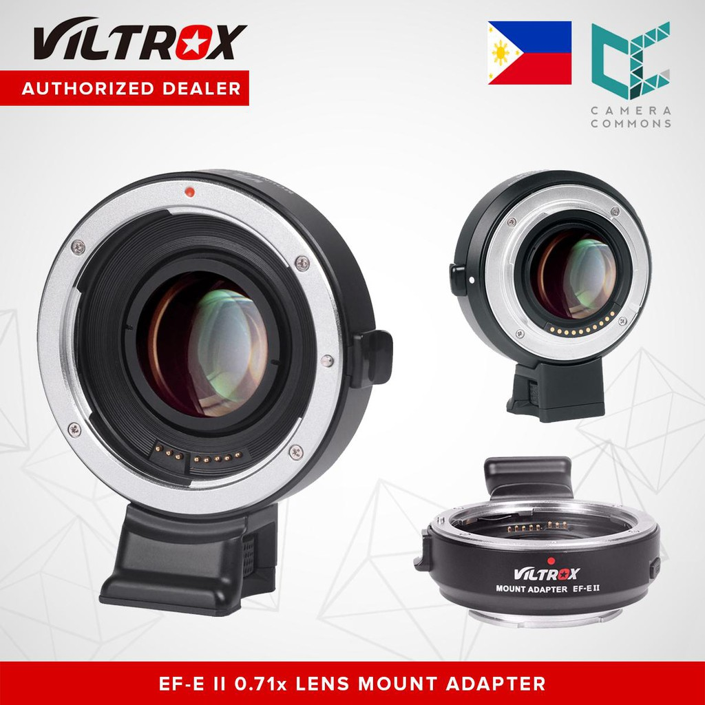 VILTROX EF-E II Speed Booster 0 71x Auto Focus Lens Adapter for Canon EF  Lens to Sony E-Mount Camera
