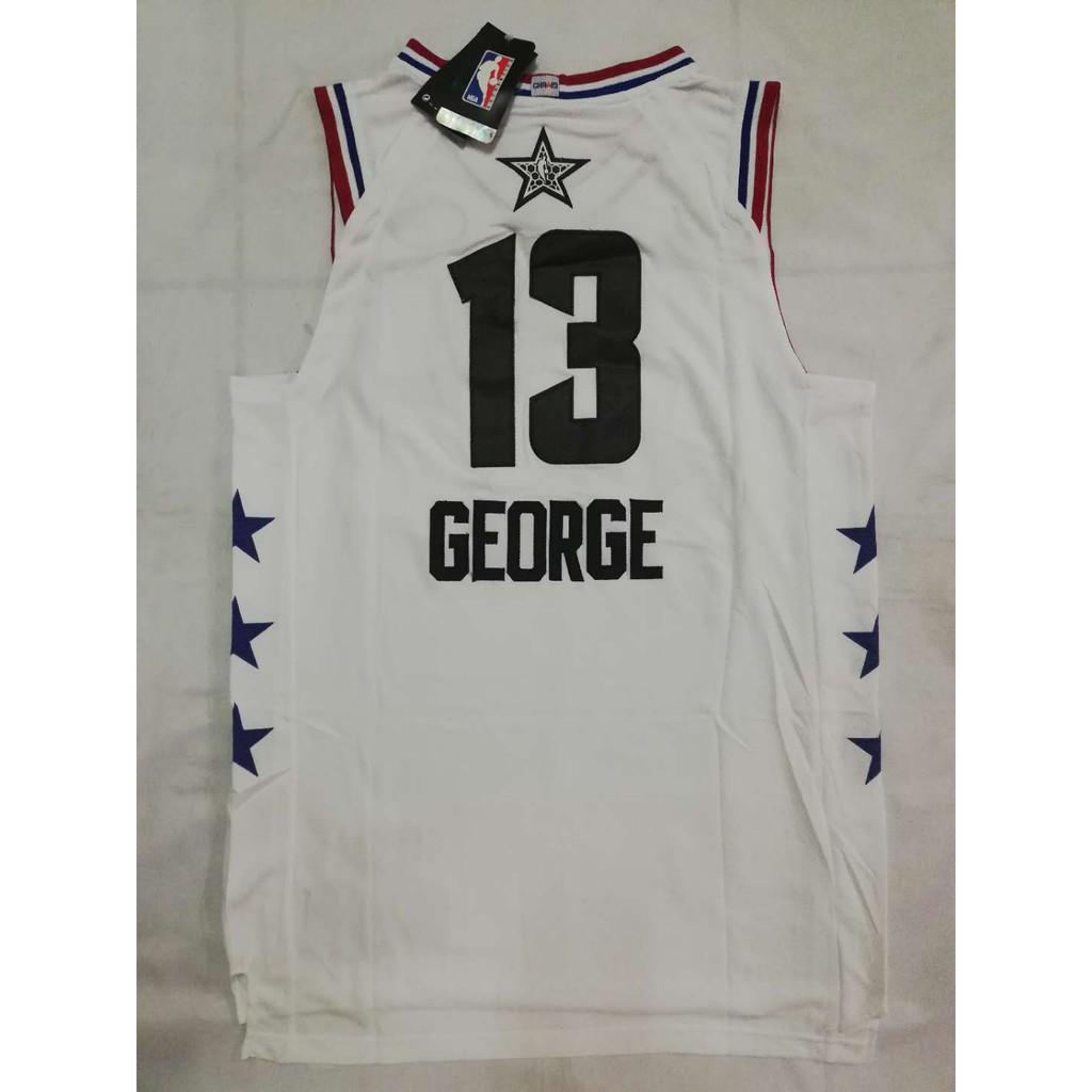 size 40 4ad79 24b07 NBA ALL STAR OKC 13 Paul George Swingman Basketball Jersey