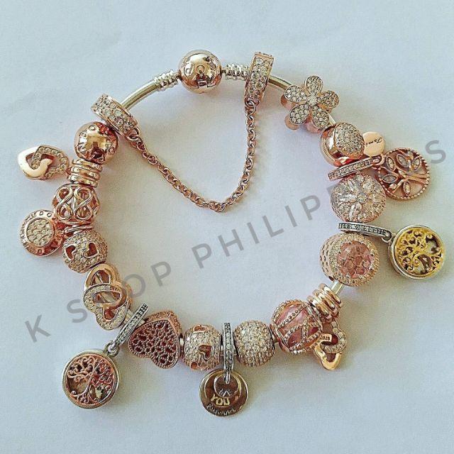 Pandora Charms Bracelet For Sale Shopee Philippines