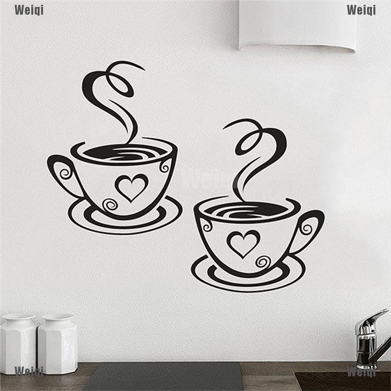 Weiqi Coffee Cups Cafe Tea Wall