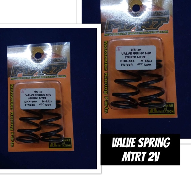 MTRT VALVE SPRING 6 TURNS / 5 TURNS FOR WAVE / MIO
