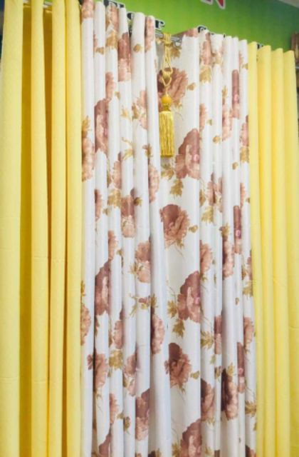 Curtains With Tassel Ee Philippines, Yellow Ruffle Curtains