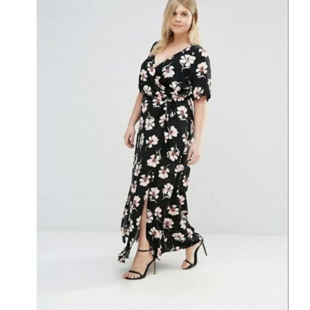 AL fashion plus size maxi dress