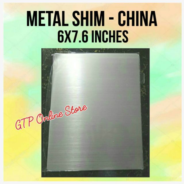 Metal Shim for Cutting Dies
