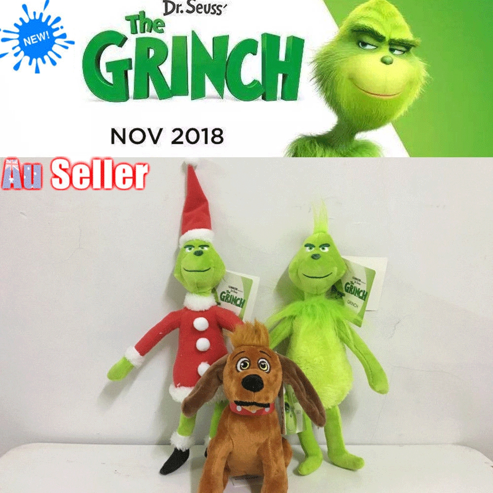 514b053f9d5 Grinch Stole Christmas Stuffed Plush Toy Grinch Gifts