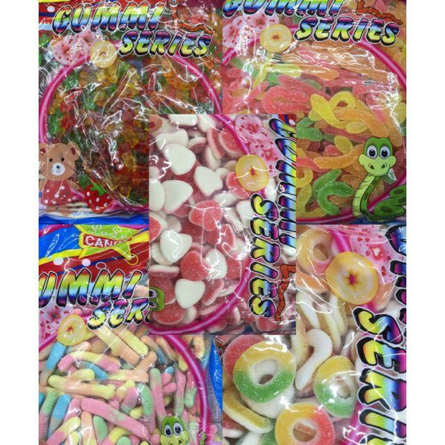 COD LULU gummy candies series(2 5kilos)watermelon tooth coke