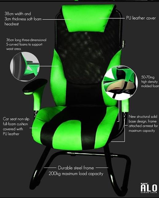 Superb Rakker Alo Gaming Chair Php3 200 Camellatalisay Diy Chair Ideas Camellatalisaycom
