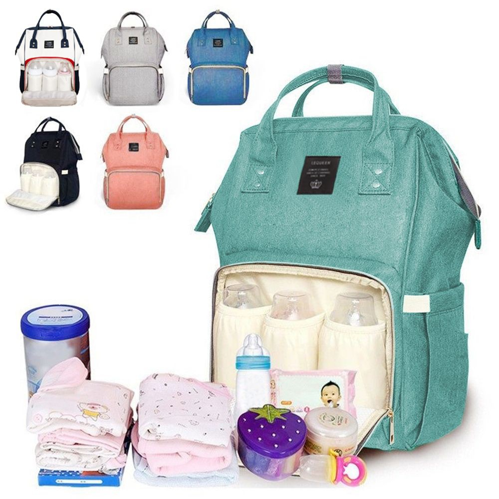 be9082112d Lekebaby Fashion Nappy Bag Large Capacity Diaper Backpack
