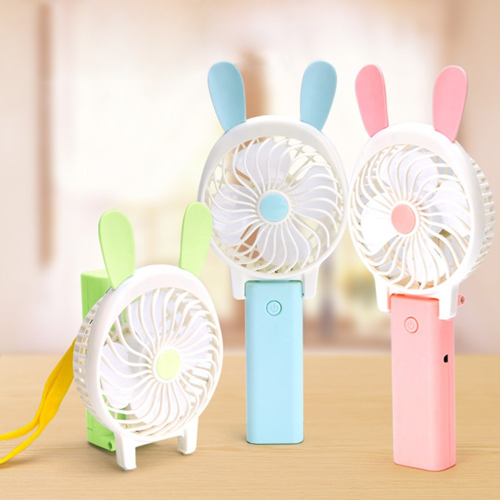 Back To Search Resultshome Appliances Small Air Conditioning Appliances Unique Led Love Pattern Handheld Mini Fan Super Mute Battery Operated For Cooling Cute Easy To Use