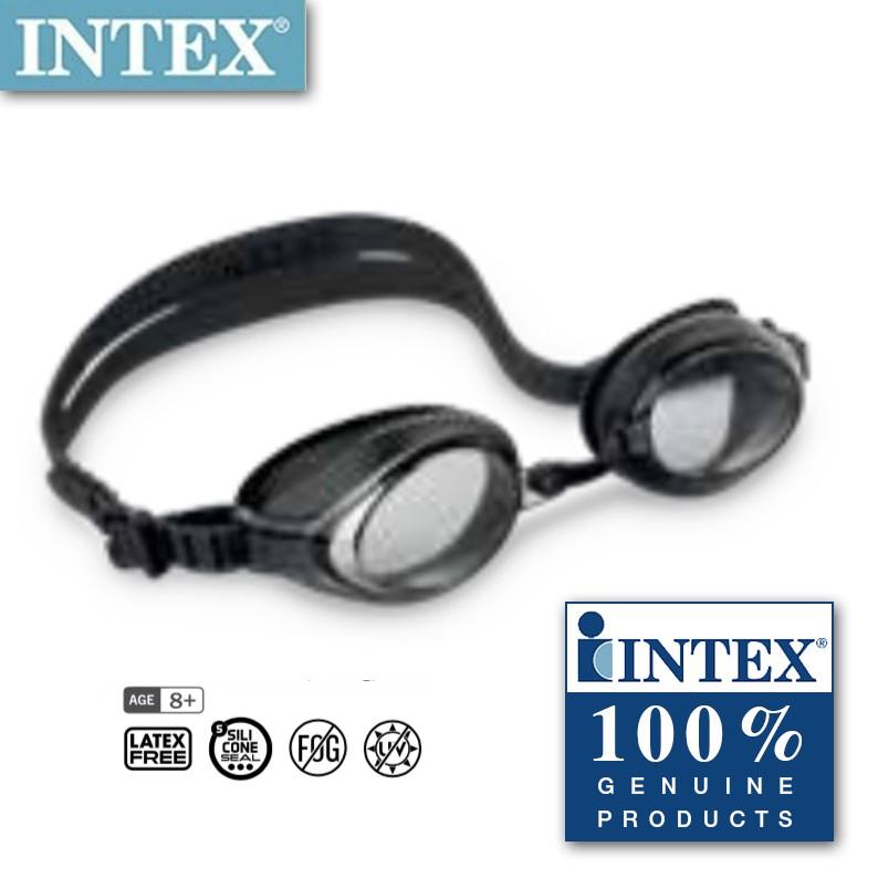 a9709a8cda Intex 55691 Pro Racing Goggles - black transparent