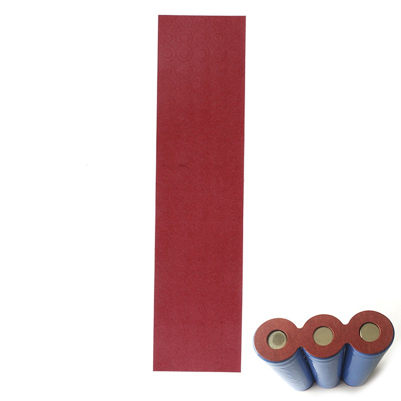 50*2knots 18650battery hollow/&solid insulators adhesive paper gasket cardboard M
