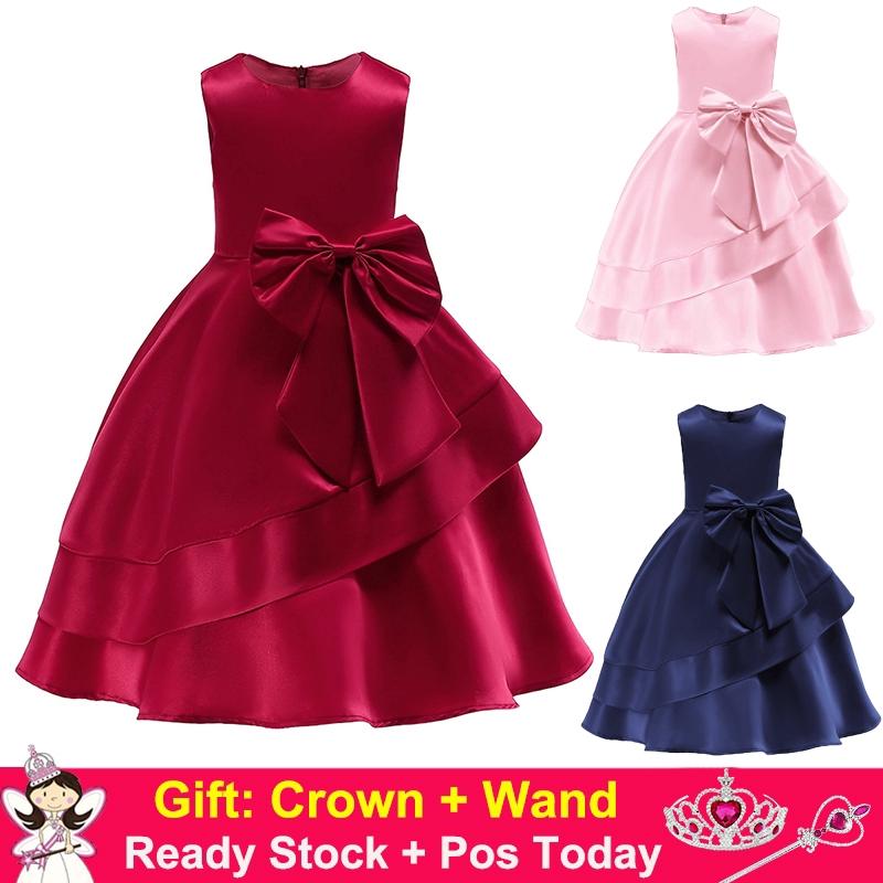 Red Dress Girls Birthday Party Xmas