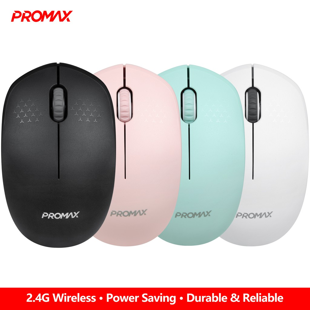576b4bd79f2 Promax M5 Power saving wireless mouse with Nano Receiver | Shopee  Philippines