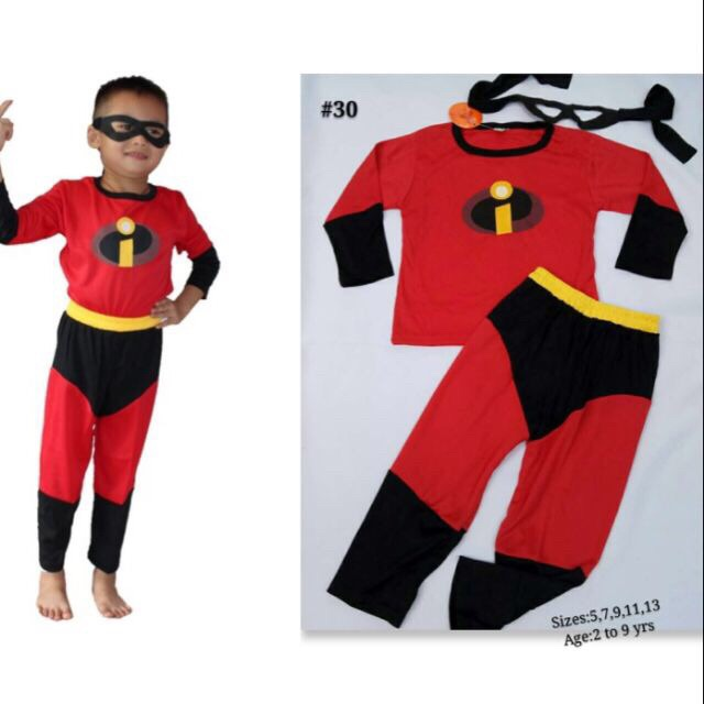 8363e5a26 Incredibles Costume for Kids with Foam Muscle | Shopee Philippines