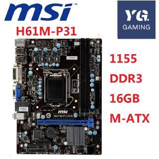 ASUS B75M-A motherboard LGA 1155 DDR3 Intel B75 100/% working