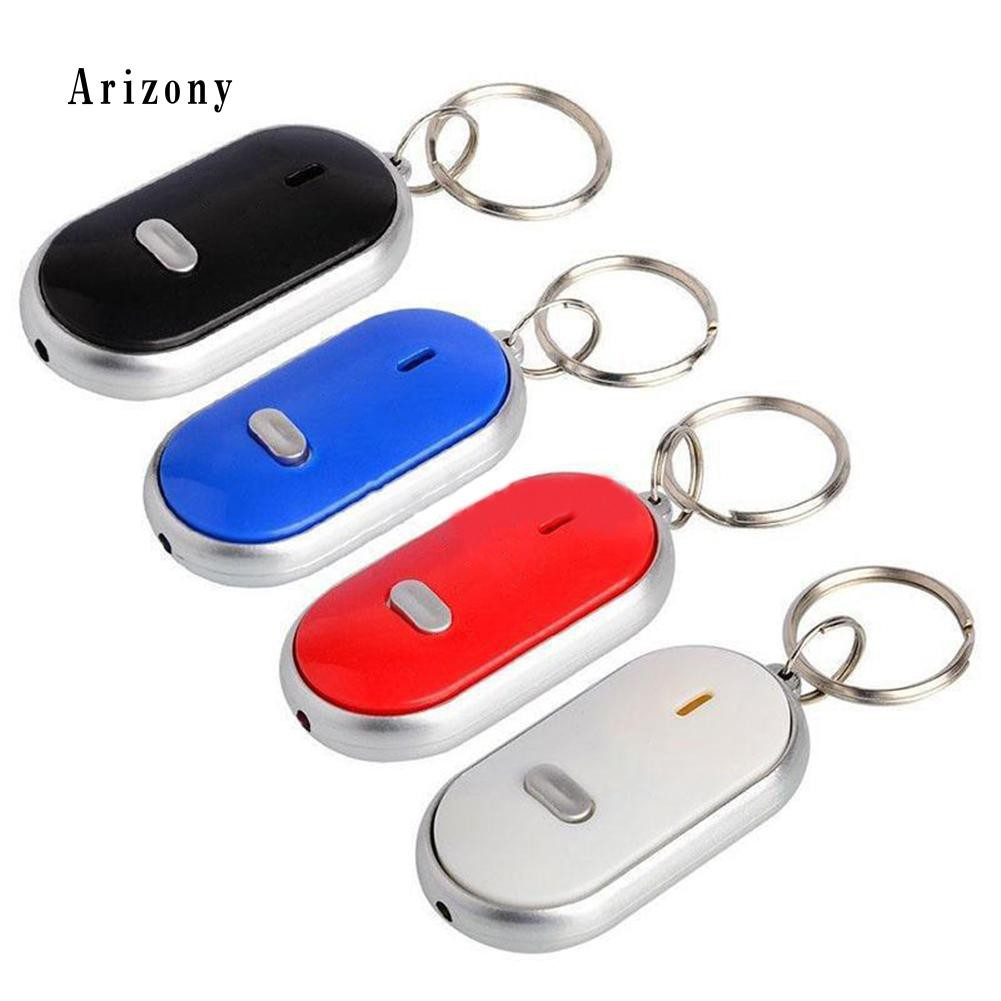 Security & Protection Whistle Sound Led Light Anti-lost Alarm Key Finder Locator Keychain Device Random Color Modern And Elegant In Fashion Security Alarm