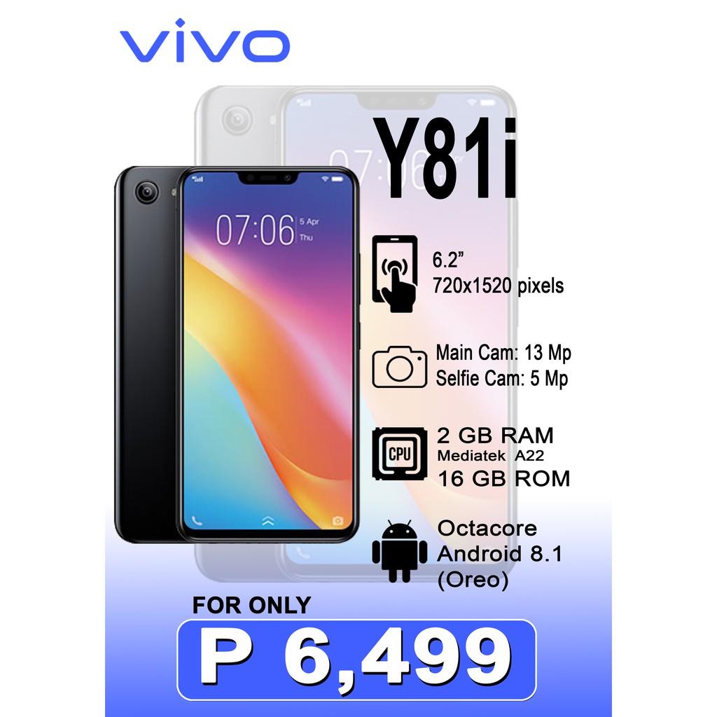 Vivo Y81i 2Gb RAM 16Gb ROM