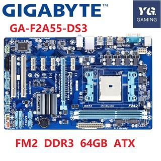 Original For GIGABYTE GA-A55-S3P Motherboard Desktop Socket 32 GB SATA DDR3 FM1