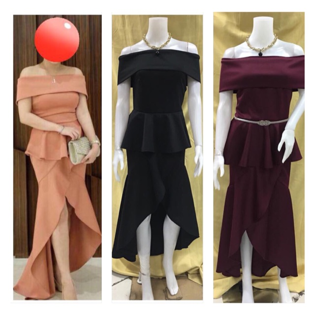Long Gown Prices And Online Deals Feb 2019 Shopee Philippines