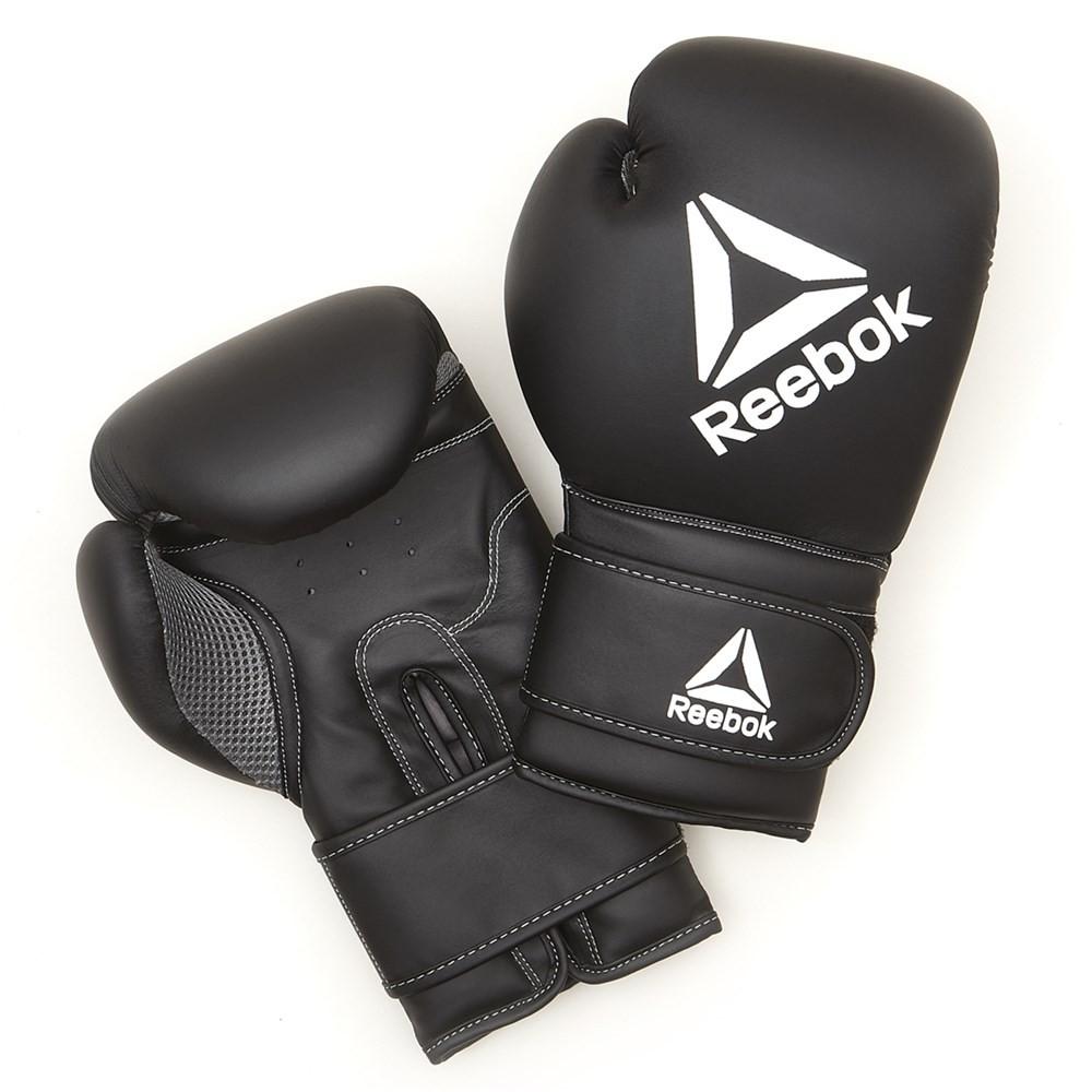 dfdbc1592bbcb Reebok Retail Boxing Gloves - 10oz Black RSCB-12010BK-10