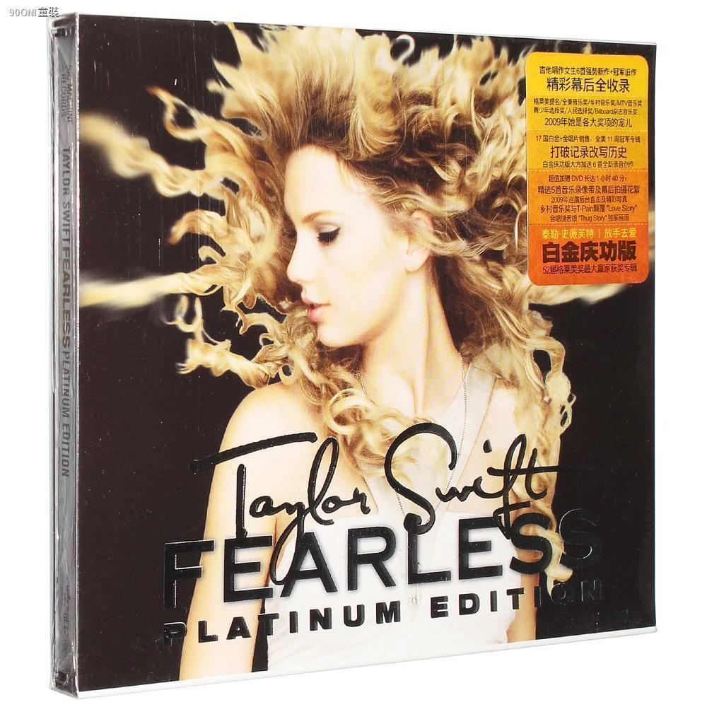Taylor Swift Album Fearless Hand Love Cd Dvd Shopee Philippines