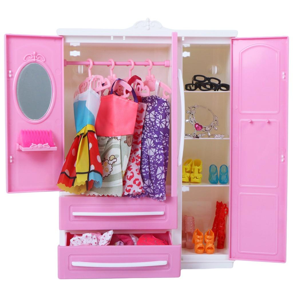 30cm doll oversized dream princess wardrobe furniture closet