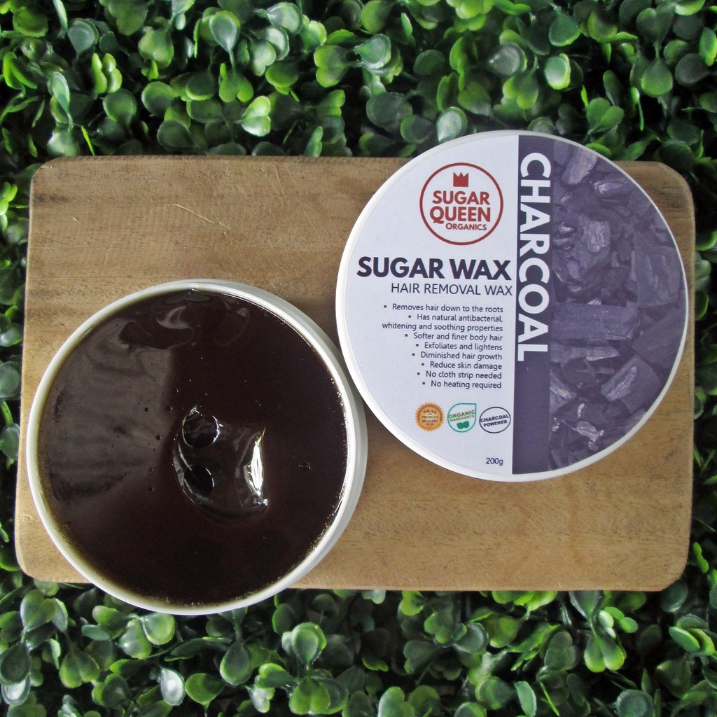 Charcoal Sugar Waxing Kit BIG- hair removal   Shopee Philippines