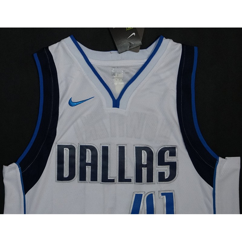 innovative design d44af ca973 Nike Dirk Nowitzki Dallas Mavericks Navy Jersey #41