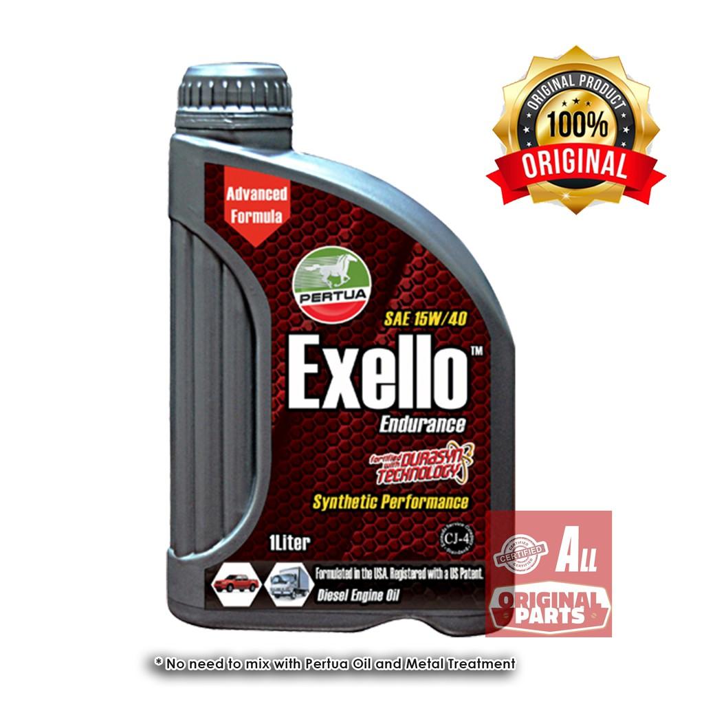 Pertua Exello Synthetic Performance Diesel Engine Oil 1L