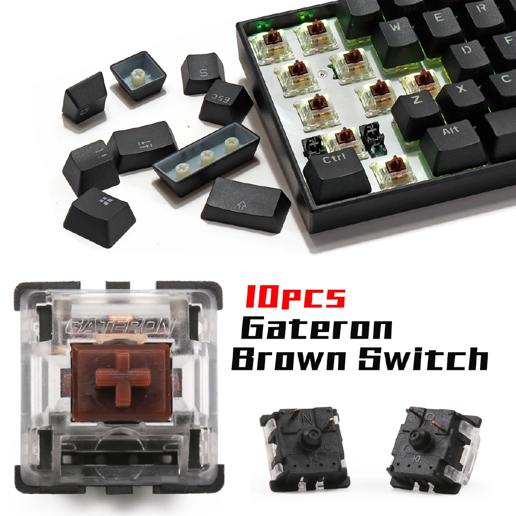 Gateron Tactile Brown Switch Keyboard For Mechanical Gaming Shopee Philippines