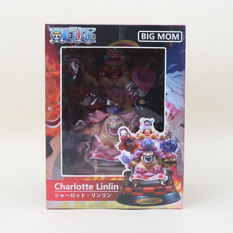 One Piece  24cm Charlotte Linlin GK Resin  POP BIG MOM  New No Box