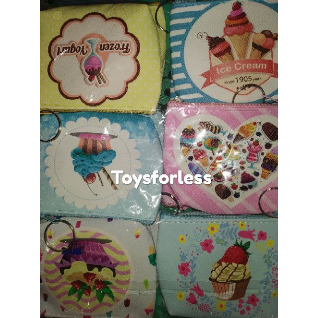 3440f5847ecf 12pcs. Cupcakes and Ice Cream Wallet/Coin Purse
