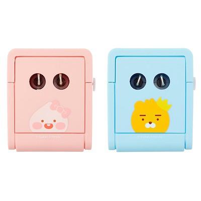 [Kakao friends] Travel Multi Adapter Available Worldwide  2 USB Port Europe Us Uk China Japan