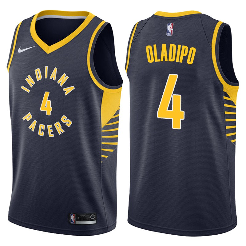 sports shoes b1ef2 dc10e Nike Indiana Pacers Victor Oladipo NBA Jersey #4 in stock blue