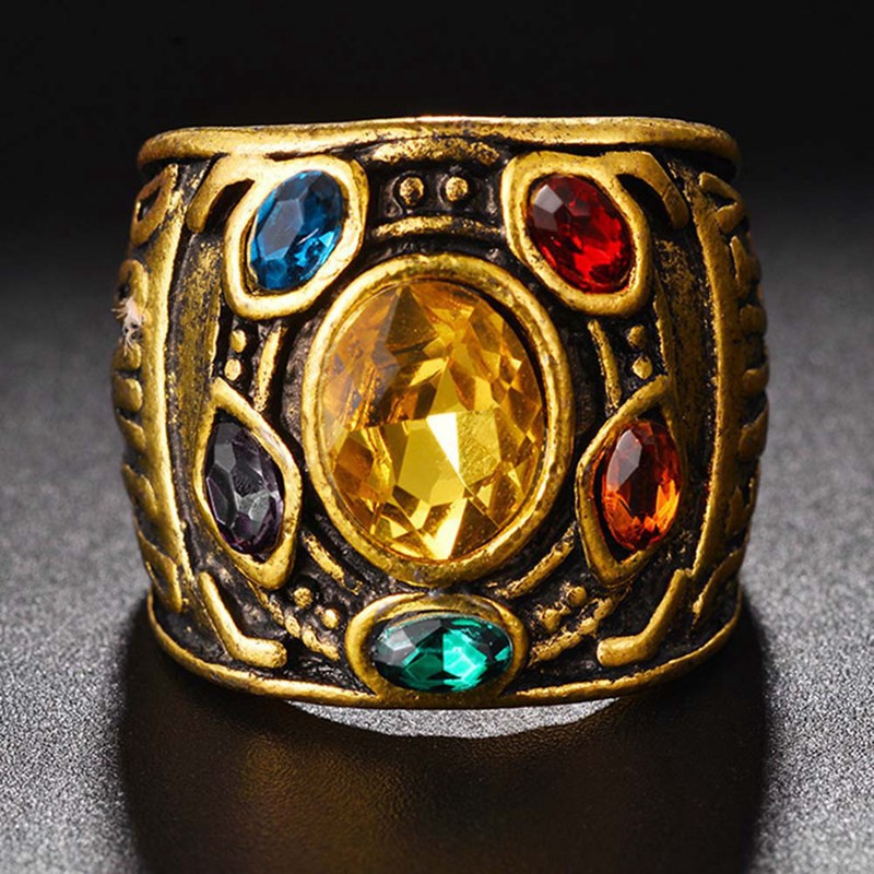 Infinity THANOS Gauntlet POWER RING Avengers The Infinity War Stones
