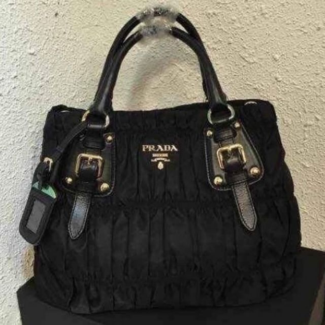 f3e22712177d Top quality PRADA BAULETTO TESSUTO SOFT CALF BAG BN1903 | Shopee Philippines