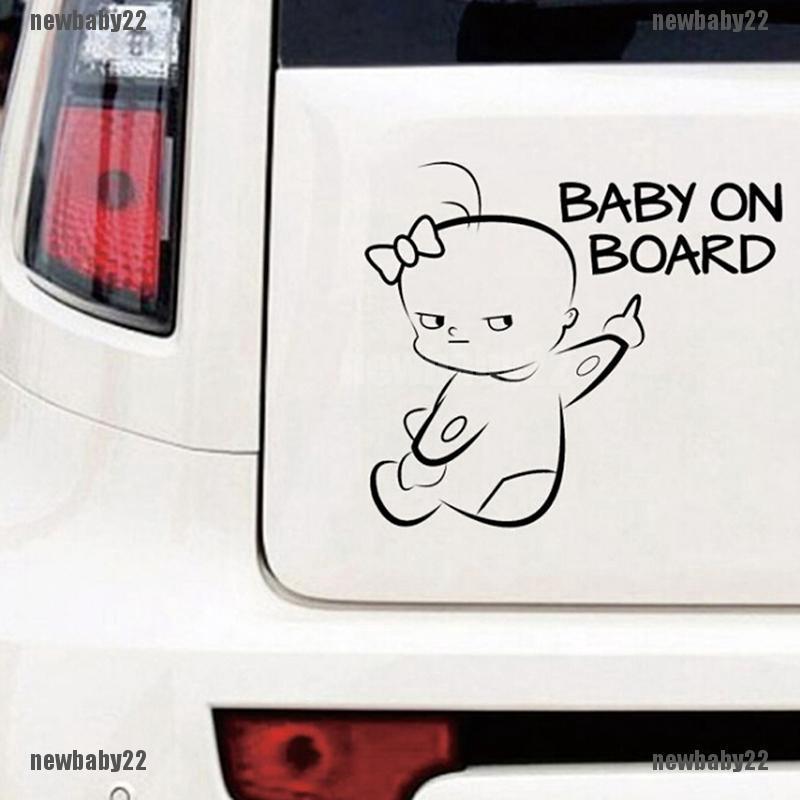 Mickey Mouse Head-Car Window Sticker White-Vinyl,Bumper,Child,Kids,Micky Sign