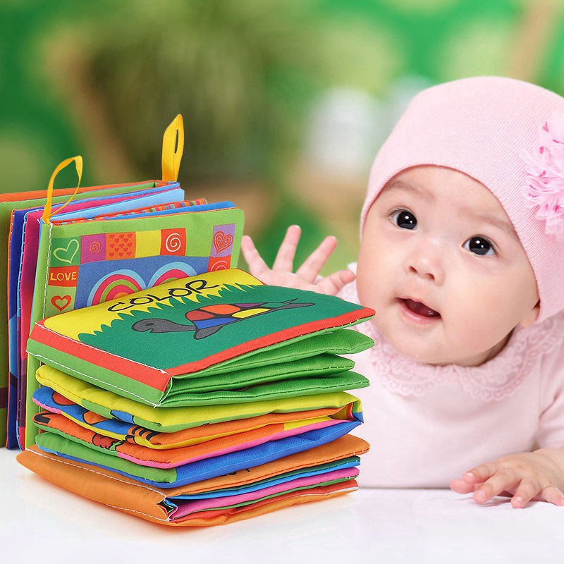Cognize Cloth Book Intelligence development  Fabric Toy