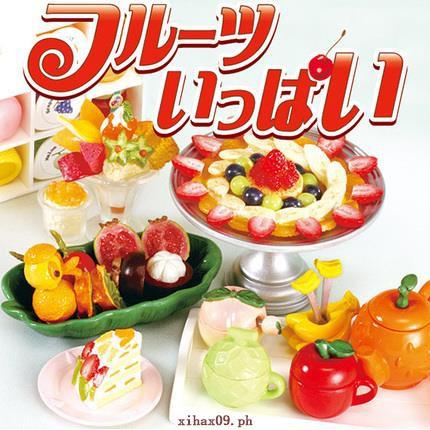 RE-MENT genuine food play model! Fruit dinner fruit platter mini miniature food model field