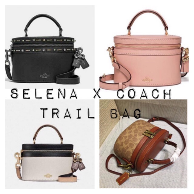 f21a8809f2 Selena Gomez x Coach Trail bag
