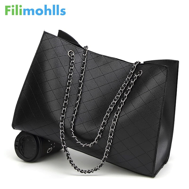 57f1bdf81a0 Moamoy Leather Bags For Women 2019 Luxury Handbags Women Bags Designer Big  Tote