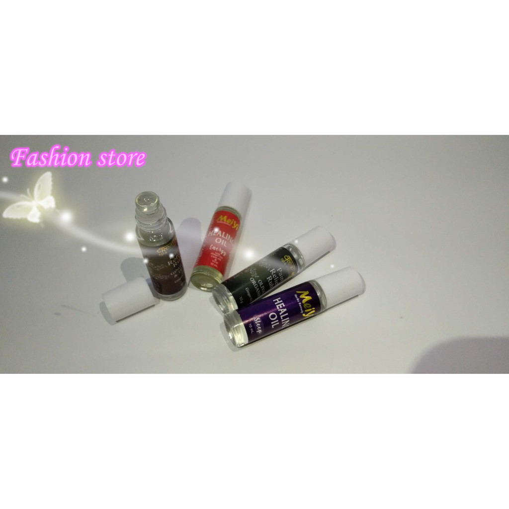 Fashion#NEW Creations Spa Essentials Pain Relief Rub 10ml Meiyi Healing Oil