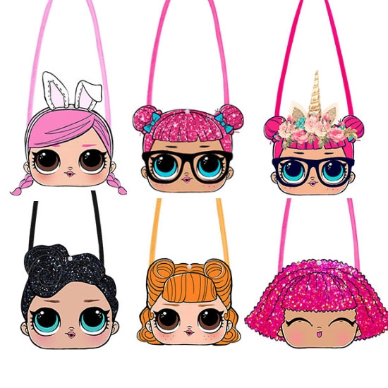 Cartoon Cute Lol Surprise Doll Kids Sling Bag Shoulder Bag