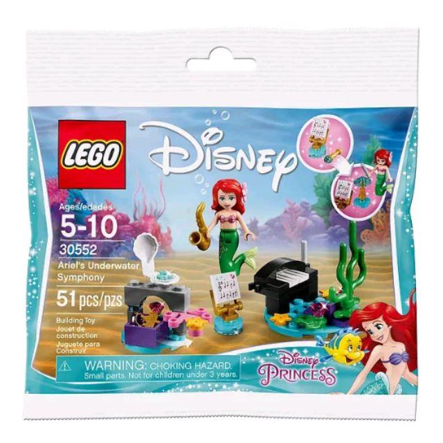 Lego Ariel's Disney Polybag Symphony Underwater 30552 hBQxstrdoC