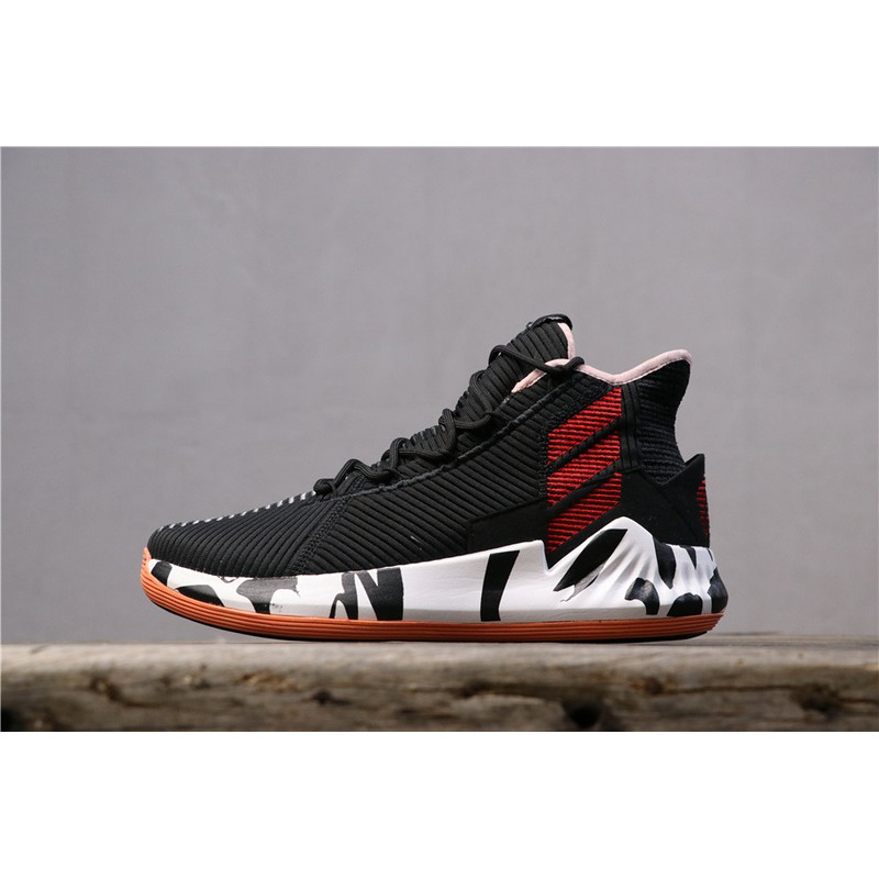Seleccione Cereza Mutilar  ADIDAS D Rose 9 year limited edition Men's high-top breathable ...