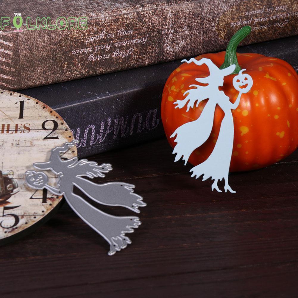 Halloween Pumpkin House Metal Cutting Dies Stencil Scrapbook Paper Card Craft UK