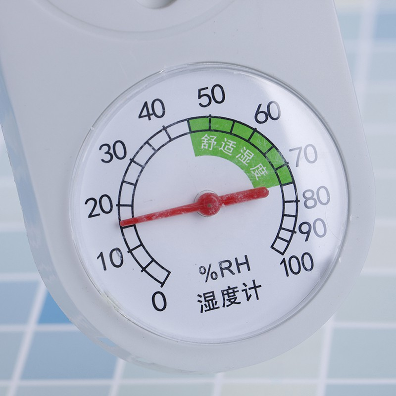 Household analog thermometer hygrometer temperature humidity monitor meter gauge