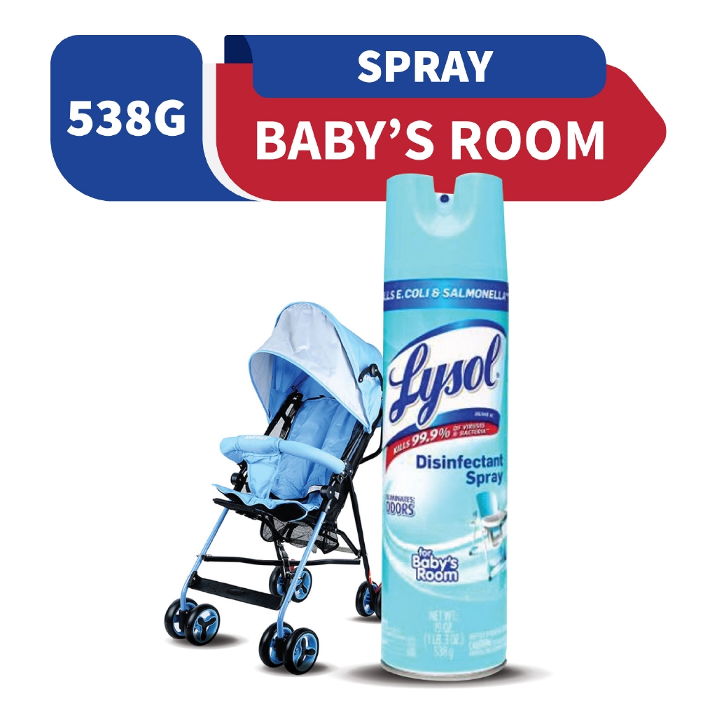 Lysol Disinfectant Spray For Baby's Room 538g